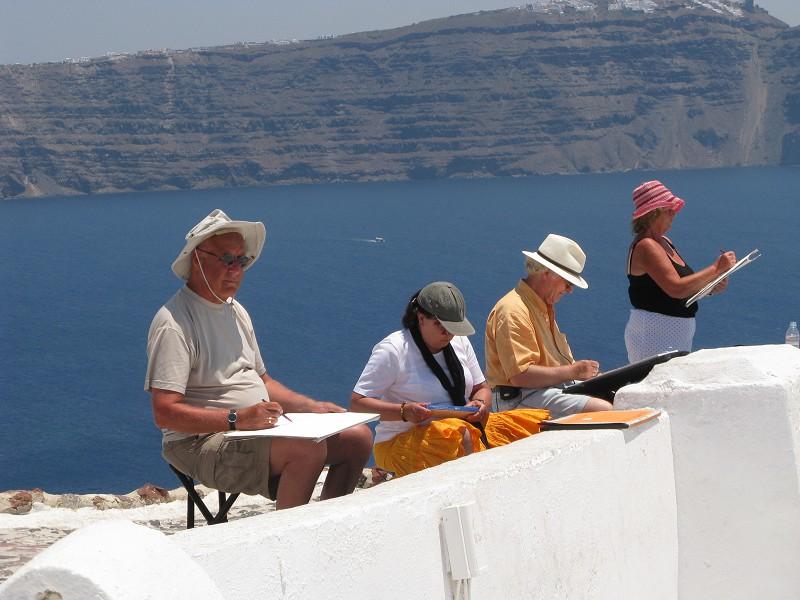 Malreise Santorini 9